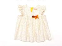 free shipping CS4081 Girls cotton  foil print baby blouse 5 pcs/LOT