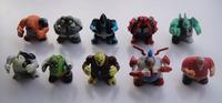 Q series ben10  PVC original figures 10pcs different styles /set