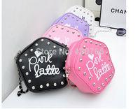 Hot sale fashion casual Rivet women's shoulder bags famous brand women messenger bags PU handbag crossbody mini bag