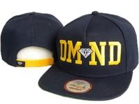 2014 HOT Summer Diamond Snapback hat for men women Snapback Hip hop bboy snap basketball Baseball Cap Adjustable Swag 5styles