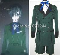 Japanese Anime Black Butler Cosplay Costume Sebasti Kuroshitsuji Ciel Phantomhive Aristocrat Noble Wardrobe Halloween Costume