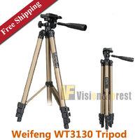 WEIFENG WT3130 Digital Camera Tripod Aluminum DV Camcorder Tripod Lightweight Portable Tripod with Portable Bag Free Shipping