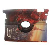 Free shipping Fashion 360 Degree Rotating Spider-Man PU Leather Stand Cover Case For ipad mini / ipad mini 2