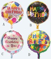 10pcs/lot aluminum foil balloons  party decoration balloon toys for chrildren's happy birthday