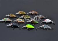 Super Mini Smallmouth Crankbait fishing lures,35mm/3.8g fish lure with japanese BKK treble hooks,12pcs/lot,Free shipping