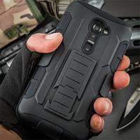 For LG G2 Mini Case, Future Armor Impact Holster Hybrid Hard Case For LG G2 Mini D620 D618 Cover Belt Clip  + Flim + Stylus
