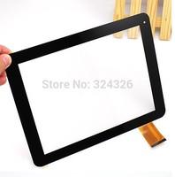 Black 9.7 inch for Yuandao Window Vido N90 dual core double 2 touch screen digitizer touch panel Free shipping !!!