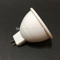 6W MR16 12V COB LED Lamp Light Spotlight White/Warm White 12V  30pcs/lot Free shipping