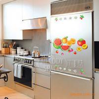PVC wall stickers fruit fridge - restaurant wall stickers - stickers - decoration stickers TC1013