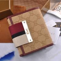 genuine leather canvas women wallets brand design fashion women wallets high quality 3 layer cash card women purses