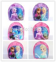 2014 new arrival frozen school bag,kids frozen school backpack for girls.frozen christmas gift for children,kindergarten bag