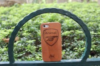 For iphone 5 phone case set for apple 5 iphone5 bamboo shell protective case wool yingtaomu arsenal