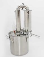 65  liters moonshine distiller for wine beer vodka water distillation brewing equipment vin large volume home bar brewery