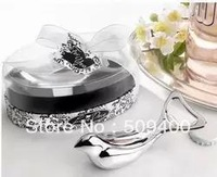 "The ""Love Dove"" Chrome Bottle Opener in Elegant, Oval Showcase Giftbox+100sets/LOT"