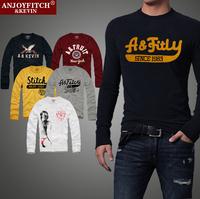 Men t shirt brand Anjoy&Fitch plus size 3XLcasual clothing long sleeve 100% cotton sport shirts high quality casual-shirt