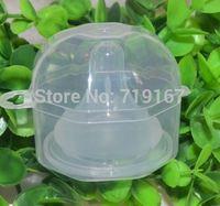 New baby funny pacifier silicone nipple storage box chupetas  packaging gift box chupetas para bebe box 20pcs/lot free dropping