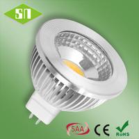 2014 wholesale warm white 500lm high power led mr16 cob 5w