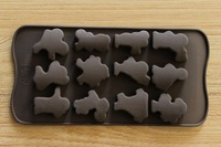 21.2*10.5cm 3D chocolate mould cake mould in sports design cake decoration tool