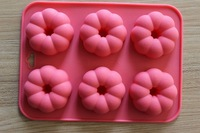 23*17cm 3D silicone flower cake mould cake Decorating Tool Sugar craft