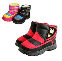 Children Shoes Winter Boots Lambs Wool Waterproof Soft Bottom Warm Shoes Non-Skid Boy Cotton Shoes Girls Boots SRTX5014