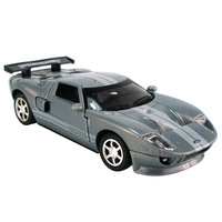 Diecasts car models Children's toys  Ford GT 1:32 Sound and light version have pull back function can open door birthday gift