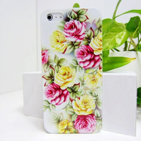 """100pcs Freeshipping New Stylish Grip TPU Flower And Butterfly Gel Soft Back Cover Case For i6 Plus 5.5"""" Case Slim Shell"""