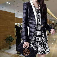 Winter Down and Parkas Women Fashion Coat Extra Large Size 2014 New Brand Outerwear Lady Cardigan Jacket Slim Style NZH029