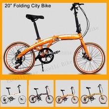 "20"" Folding Bike Brand Travel bike Folding Mini Bicycle Bicicleta For Women and Kids City Bike Aluminium Alloy or Steel Frame(China (Mainland))"