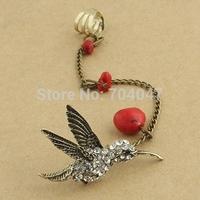 20% discount of 3pcs or more NO MOQ vintage ear cuff punk earring bird earring YY174