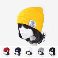 2014 NEW Winter Spring Hot-Selling Fashion women lady warm hat Kintted wool cap Striped 6 color Beanies Cap For Men