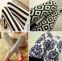 new fashion autumn and winter fashion thick elastic Chidori Giga wild personality comfortable leggings