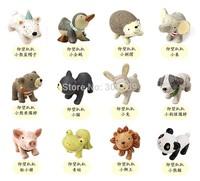 12pcs/set Japan Zakka Resin Healing Series Home Decoration Cute Resin Animal Ornaments Mini Creative Resin Craft Free Shipping