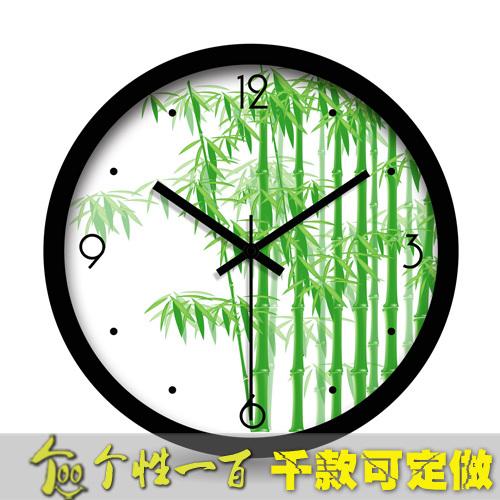 Wall clock \ Bamboo / / creative / modern minimalist style living room / / watches(China (Mainland))