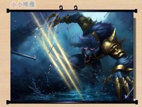 ~ HOME Decor Game Anime Poster Wall Scroll league of legends LOL ~Warwick 106460