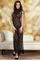 Red Midnight Cheongsam Style Long Dress LC6655