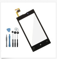 Guarantee  For Nokia Lumia 520 525 526 Touch Screen Digitizer with back glue 100pcs/lot +1 set free tools DHL EMS Free shipping