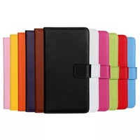 Flip Wallet Style Genuine Leather Case Cover for HTC Desire 816 Free DHL Shipping 20pcs/lot