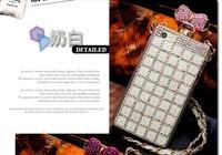 Premium Bling Diamond Perfume Bottle tpu Cover Case For Phone 6 6 plus case 4.7 5.5