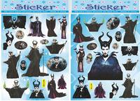 Frozen sticker anna elsa slof Hot sale PVC tape/children's cartoon transparent sticker/environmental protection