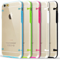 Transparent Clear Silicone Case For iPhone 6