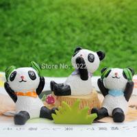 zakka resin animal statues panda decoration animal door decoration