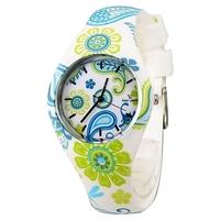 V6 Fashion Leisure Green Soft Silicone Strap Students' Wrist Watch Quartz