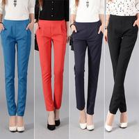 2014 Women panty New Autumn outfit trend Casual pants trousers Show thin Haroun Leggings pants Women trousers Knit pants