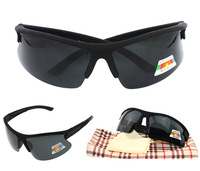 Fashion new Sunglasses , Sports eyewear , men's Polarized sun glassses ,  black color Bicycle Glass
