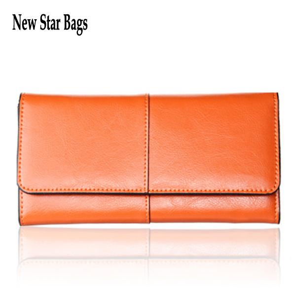 Ladies Women Wallets Genuine Leather Purses Long Wallet Women Elegant Female Red Women's Wallets Woman Leather Wallet .TS49E(China (Mainland))