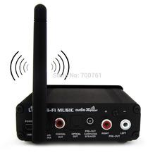 Protable Bluetooth wireless digital optical fiber speaker /coaxial /5.1 HIFI audio bluetooth speaker music receiver transmission(China (Mainland))
