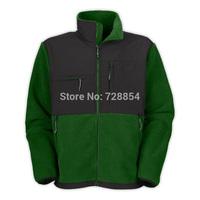 Outdoor Sports Clothes  Green Color Jacket  Thick Warm Fleece Men's Coat  8 colors 302