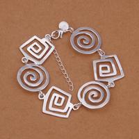 Free Shipping Jewelry 925 Silver Bracelet 925 Silver Fashion Jewelry Bracelet The Thread crude Bracelet  S0999
