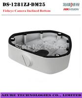 Free shipping  Hikvision bracket One- cylinder machine Inclined Bottom box  white paint  DS-1281ZJ-DM25 For Fisheye Camera