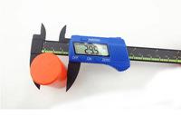 High quality blue NEW 150 mm Carbon Fiber Composite Vernier Digital Electronic Caliper Ruler Vernier Calipers Wholesale